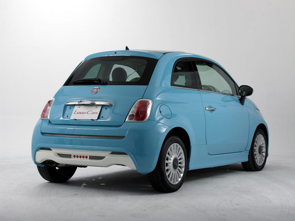 【Mille】FIAT500 Grade up